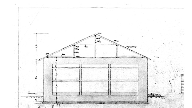 shelter stands without the sloping roof